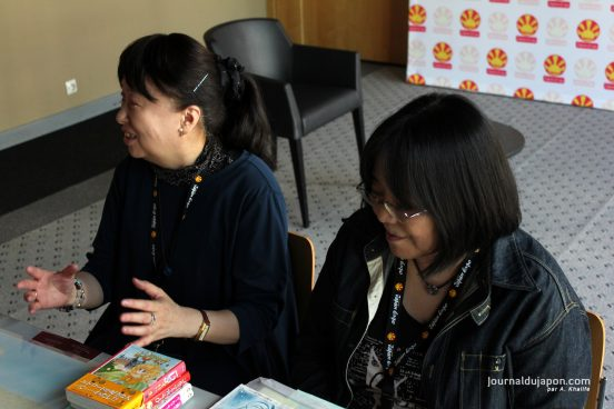 [Interview] Yoko Hanabusa, Harumo Sanazaki : de Gwendoline aux shojo d'aujourd'hui