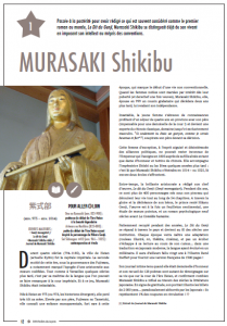 MURASAKI Shikibu, © 108 étoiles du Japon