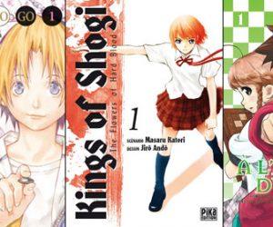 Petit tour d'horizon de mangas sur les jeux de plateau/stratégie