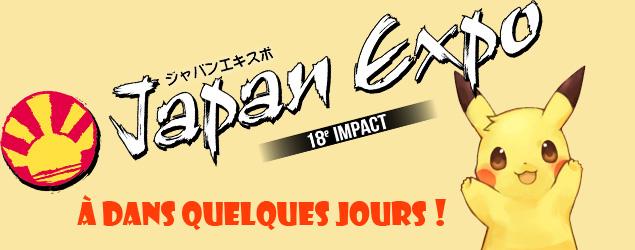 J-1 Japan Expo 2017 : de retour pour des news prochainement !