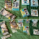 Le résumé de mes goodies japanime/manga de la JE ! :D
