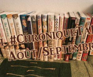 Le #ChroniqueTaPAL de Août/Septembre 2017