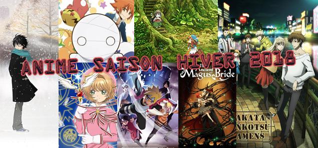 Anime de saison – Hiver 2018, on suit quoi ?