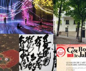 Idées de sorties sur le thème du Japon – Mai/Août 2018