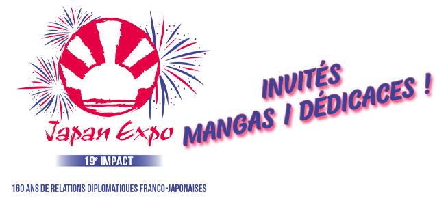 Japan Expo 2018 : les invités côté mangas !