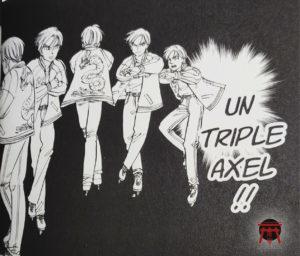 Demonstration de Triple Axel dans Blizzard Axel