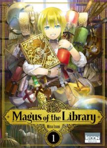 Couverture du tome 1 de Magus of the Library