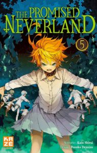 Couverture du tome 5 de The Promised Neverland