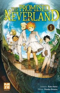 Couverture du tome 1 de The Promised Neverland