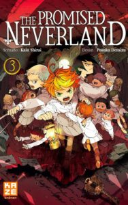 Couverture du tome 3 de The Promised Neverland