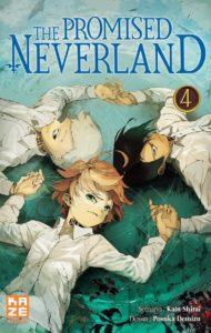 Couverture du tome 4 de The Promised Neverland