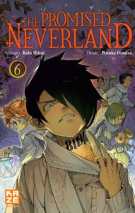 Couverture du tome 6 de The Promised Neverland