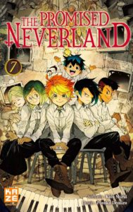 Couverture du tome 7 de The Promised Neverland