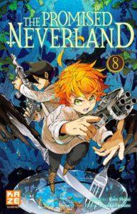 Couverture du tome 8 de The Promised Neverland