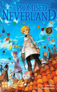 Couverture du tome 9 de The Promised Neverland