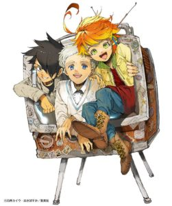 Illustration officielle The Promised Neverland