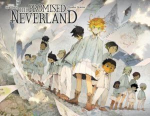 Illustration officielle de The Promised Neverland 2