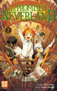 Couverture du tome 2 de The Promised Neverland