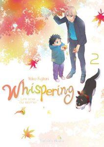Couverture du tome 2 de Whispering les voix du silence