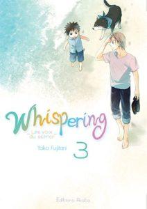 Couverture du tome 3 de Whispering les voix du silence