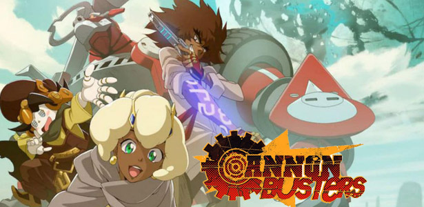Cannon Busters, anime western-SF