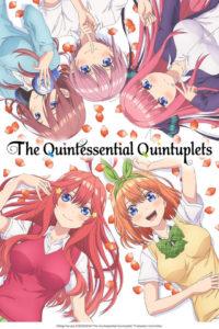 Affiche de l'animé de The Quintessential Quintuplets sur Crunchyroll