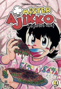 Couverture du tome 2 de Mister Ajikko le petit chef chez Black Box Editions