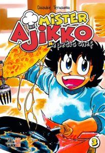 Couverture du tome 3 de Mister Ajikko le petit chef chez Black Box Editions