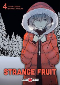 Couverture du tome 4 de Strange Fruit chez Doki-Doki