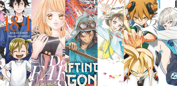Trop de sorties manga sympa en mars 2020