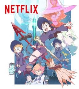 Affiche de Little Witch Academia sur Netflix