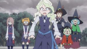 Diana dans l'anime Little Witch Academia