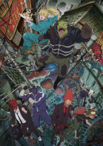 Affiche de l'anime de Dorohedoro sur Netflix