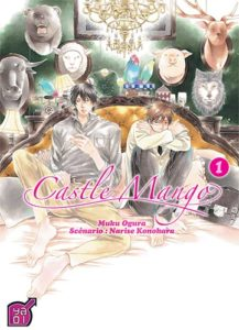 Couverture du tome 1 de Castle Mango chez Taïfu Comics