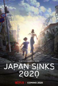 Affiche de l'anime Japan Sinks 2020 diffusé sur Netflix
